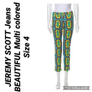 JEREMY SCOTT Jeans BEAUTIFUL Multi colored 4